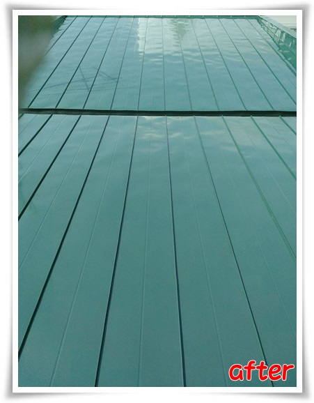 【お客様の声】100点満点!住宅屋根塗装シリコン系3回塗り/成田建築塗装