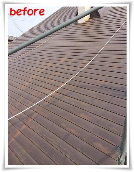 青森県弘前市【住宅屋根塗装210平米、3回塗り】みちのく塗装